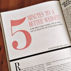 5 Minutes to a Better Website