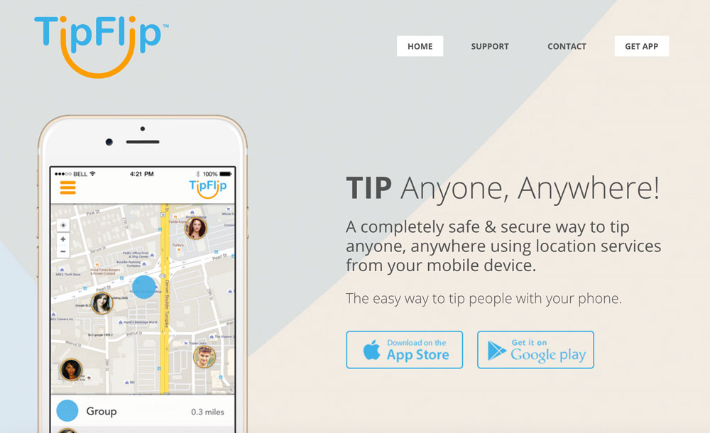 The TipFlip App